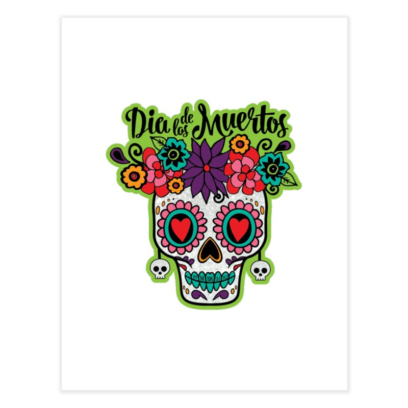 Day of the Dead Home Fine Art Print by Moon Joggers's Artist Shop