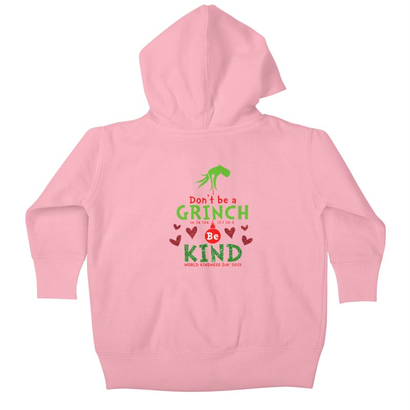 World Kindness Day - Be Kind Kids Baby Zip-Up Hoody by Moon Joggers's Artist Shop
