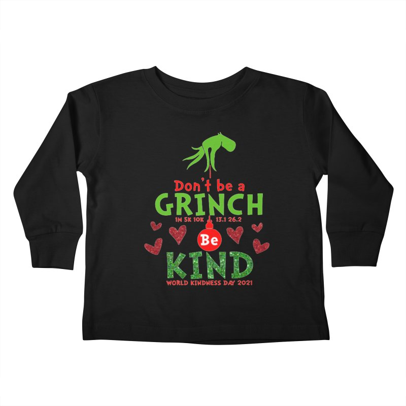 World Kindness Day - Be Kind Kids Toddler Longsleeve T-Shirt by Moon Joggers's Artist Shop