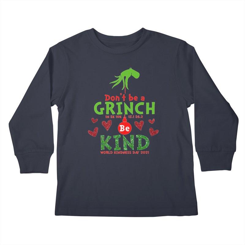 World Kindness Day - Be Kind Kids Longsleeve T-Shirt by Moon Joggers's Artist Shop