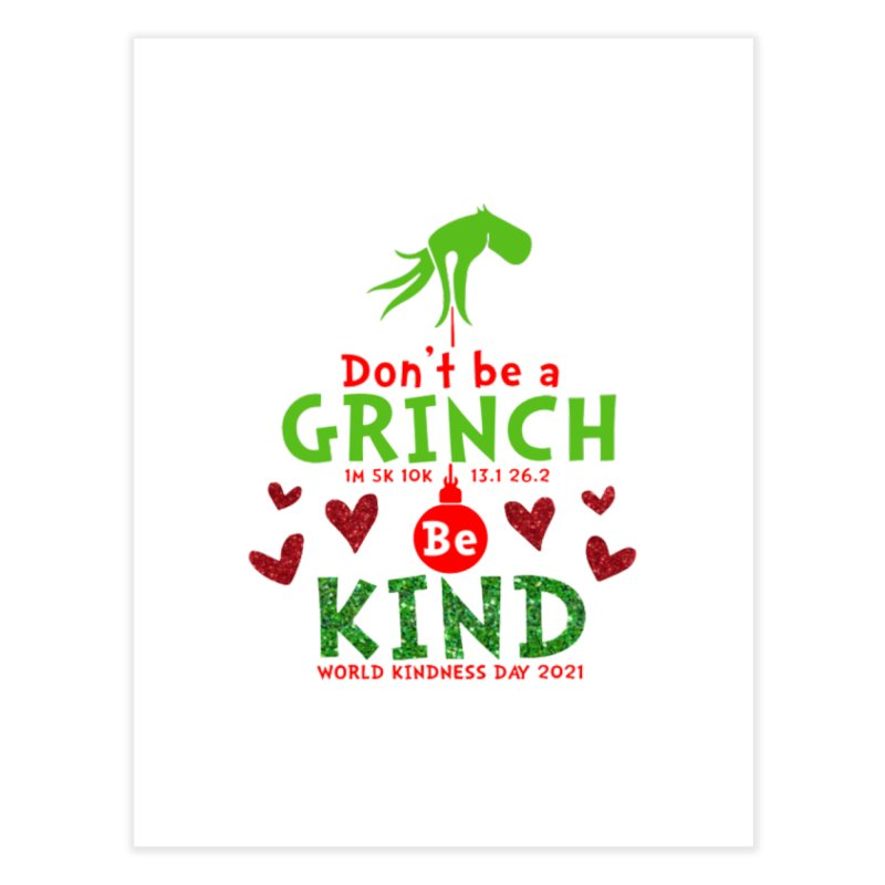 World Kindness Day - Be Kind Home Fine Art Print by Moon Joggers's Artist Shop