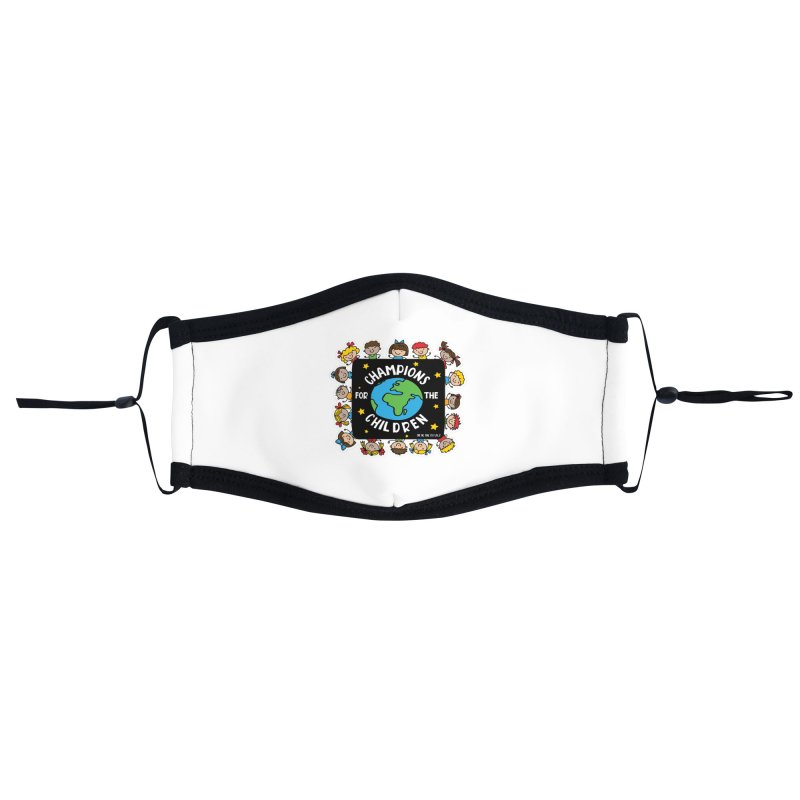 Champions for the Children Accessories Face Mask by Moon Joggers's Artist Shop