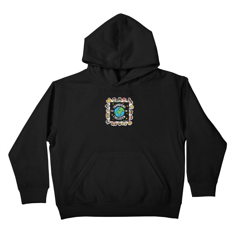 Champions for the Children Kids Pullover Hoody by Moon Joggers's Artist Shop