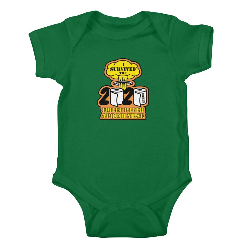 Toilet Paper Day Kids Baby Bodysuit by Moon Joggers's Artist Shop