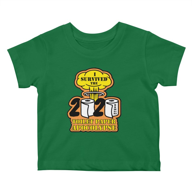 Toilet Paper Day Kids Baby T-Shirt by Moon Joggers's Artist Shop