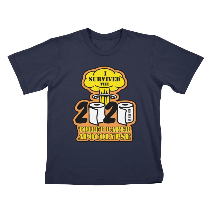 Toilet Paper Day Kids T-Shirt by Moon Joggers's Artist Shop