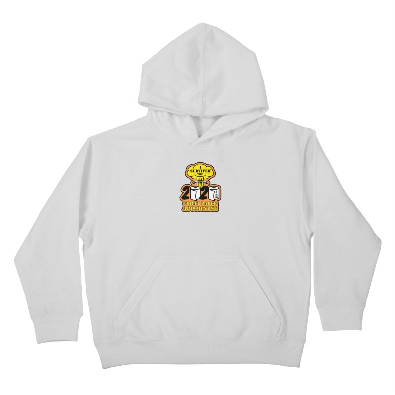 Toilet Paper Day Kids Pullover Hoody by Moon Joggers's Artist Shop