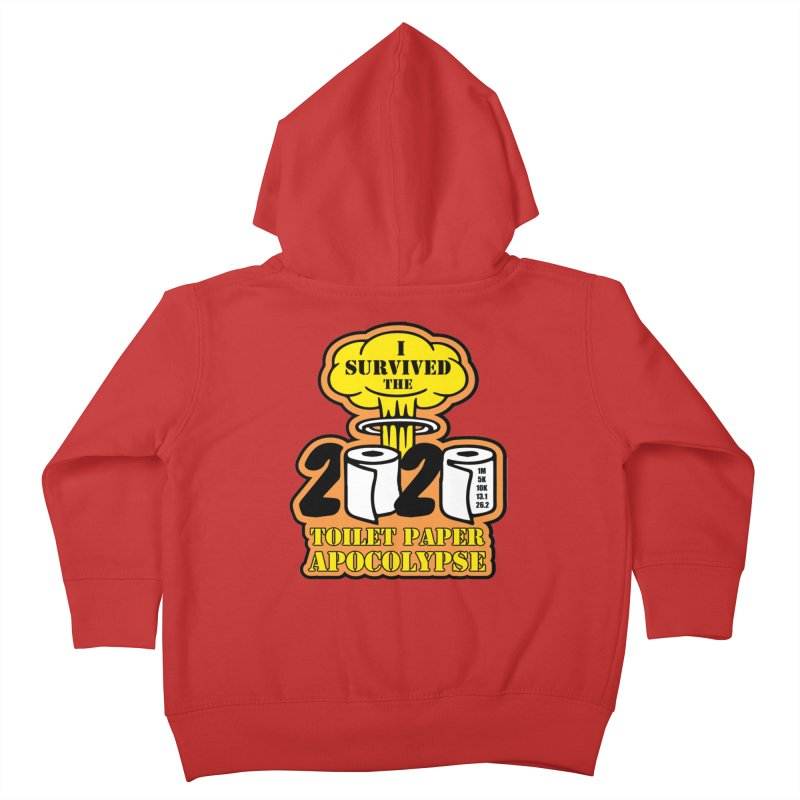 Toilet Paper Day Kids Toddler Zip-Up Hoody by Moon Joggers's Artist Shop
