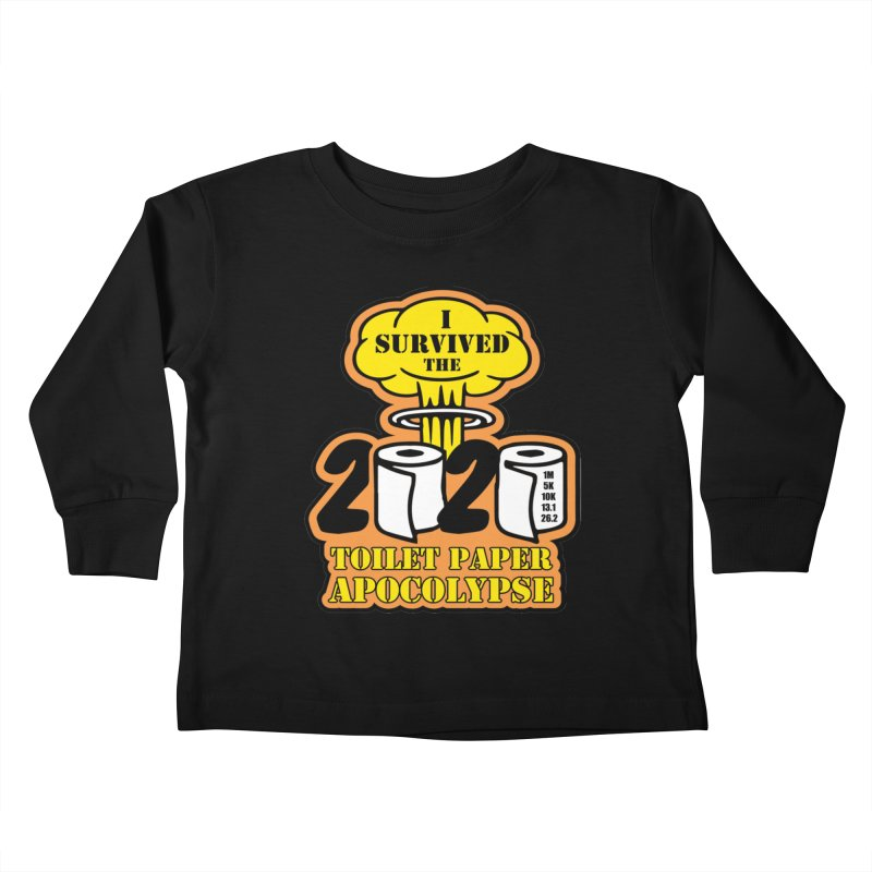Toilet Paper Day Kids Toddler Longsleeve T-Shirt by Moon Joggers's Artist Shop