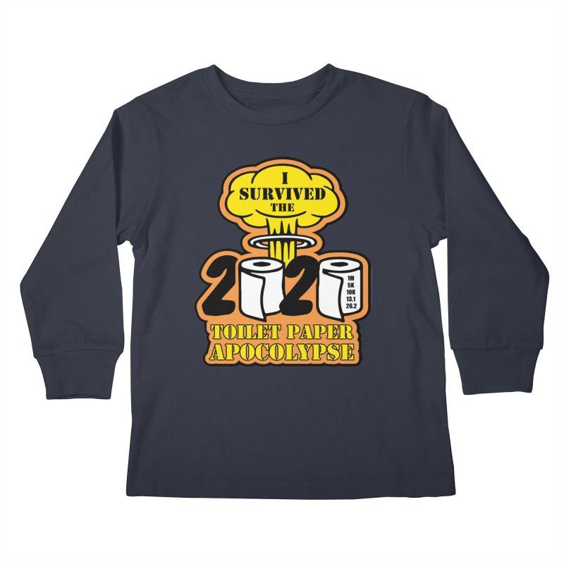 Toilet Paper Day Kids Longsleeve T-Shirt by Moon Joggers's Artist Shop