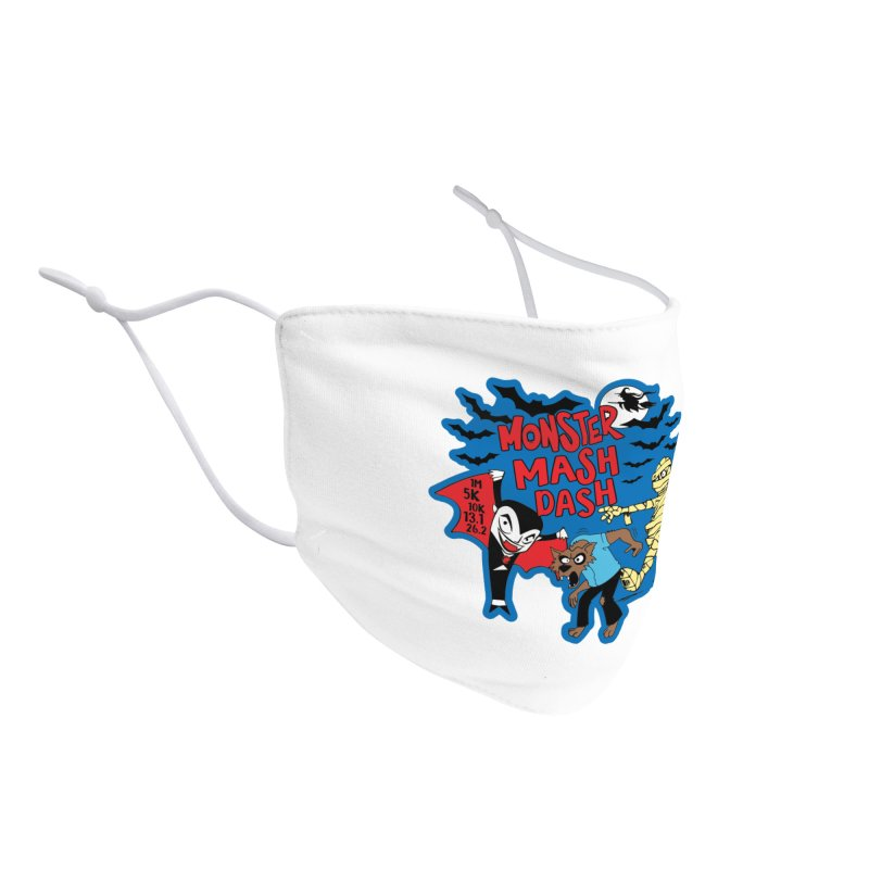 Monster Mash Dash Accessories Face Mask by Moon Joggers's Artist Shop