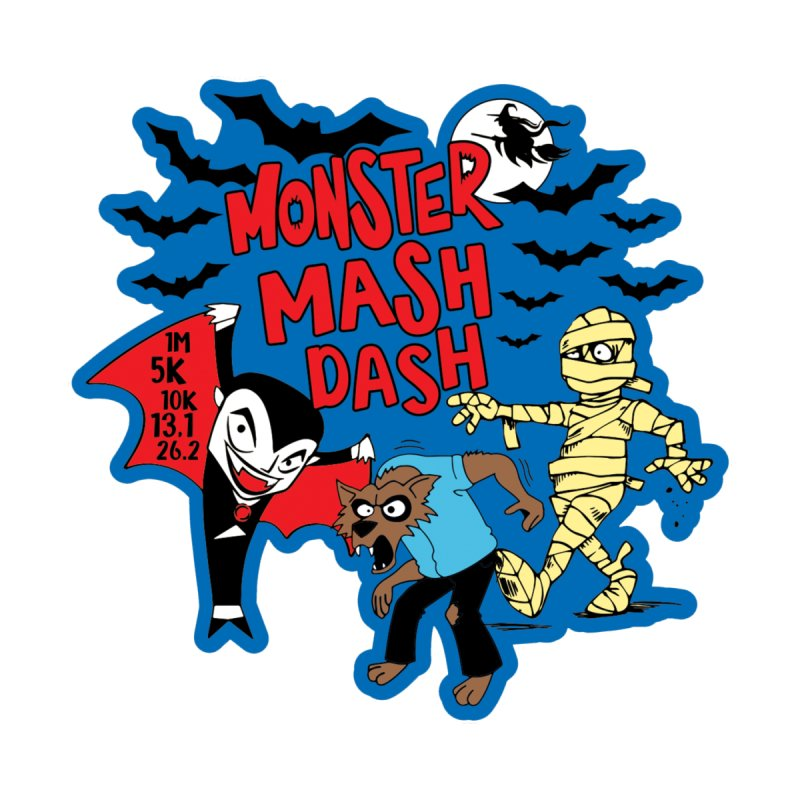 Monster Mash Dash Men's Pullover Hoody by Moon Joggers's Artist Shop
