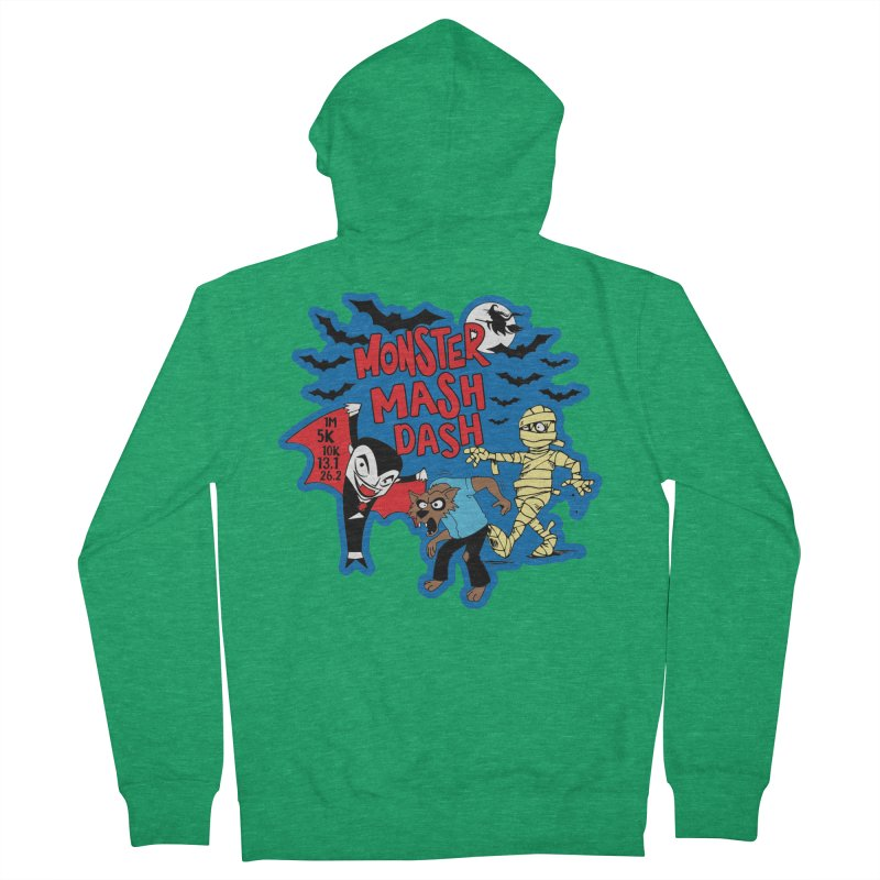 Monster Mash Dash Men's Zip-Up Hoody by Moon Joggers's Artist Shop