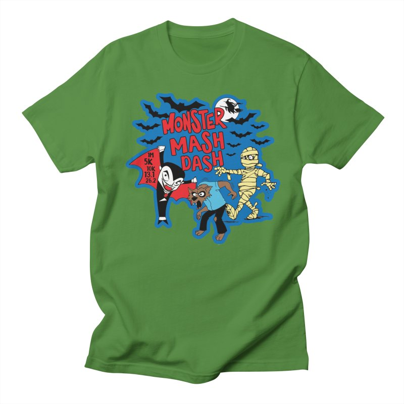 Monster Mash Dash Men's T-Shirt by Moon Joggers's Artist Shop