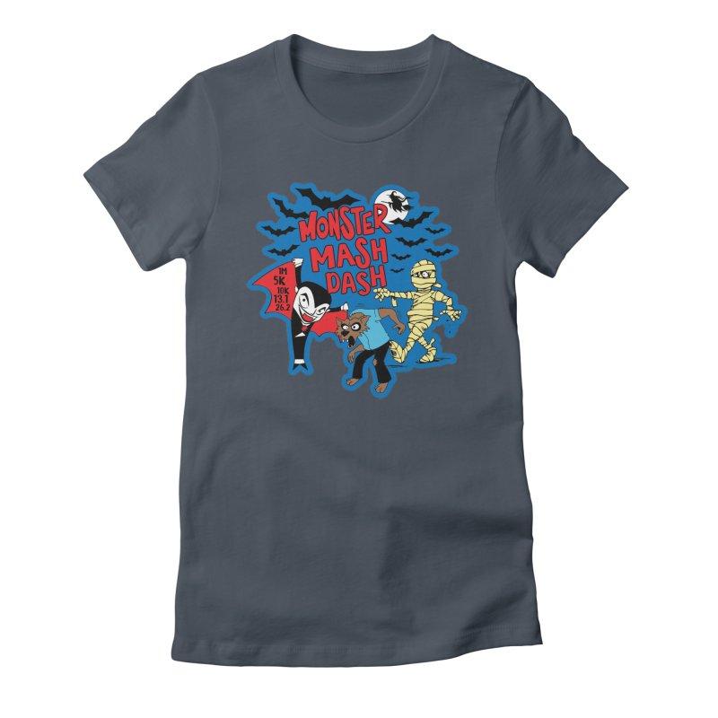Monster Mash Dash Women's T-Shirt by Moon Joggers's Artist Shop