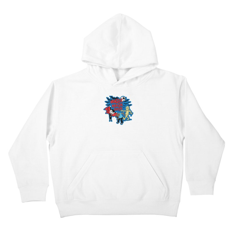 Monster Mash Dash Kids Pullover Hoody by Moon Joggers's Artist Shop