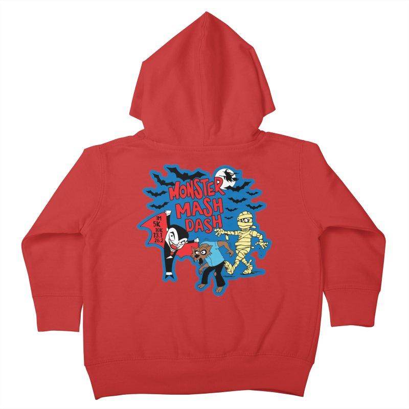 Monster Mash Dash Kids Toddler Zip-Up Hoody by Moon Joggers's Artist Shop