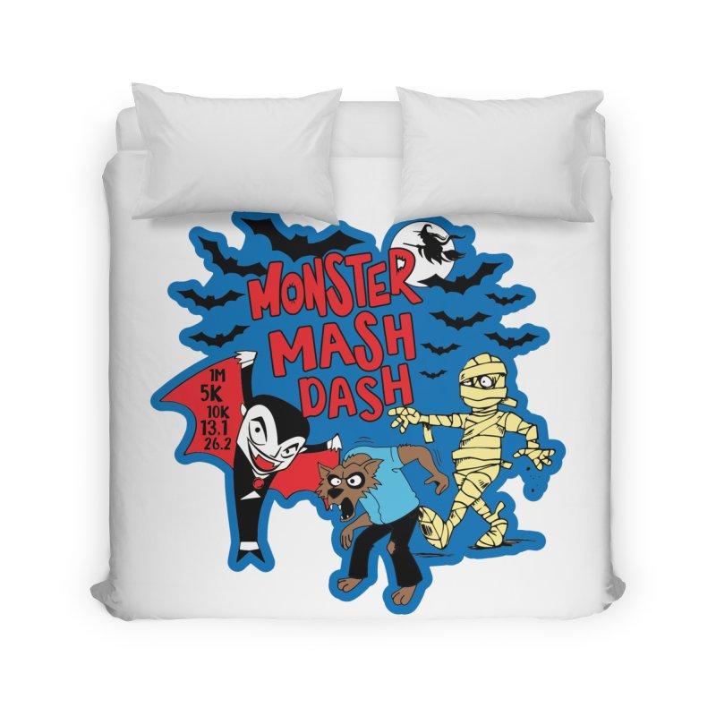 Monster Mash Dash Home Duvet by Moon Joggers's Artist Shop