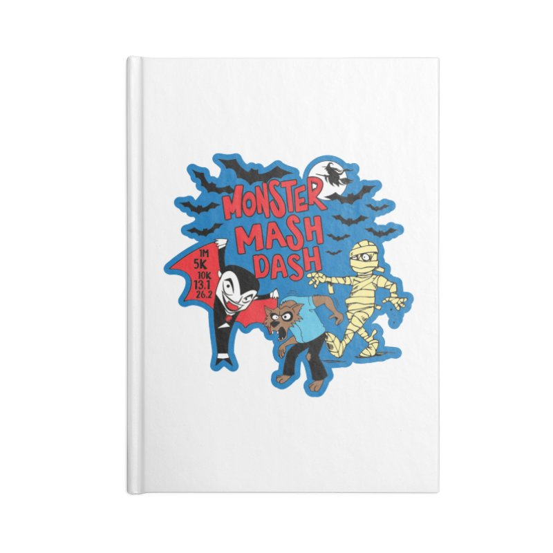 Monster Mash Dash Accessories Notebook by Moon Joggers's Artist Shop
