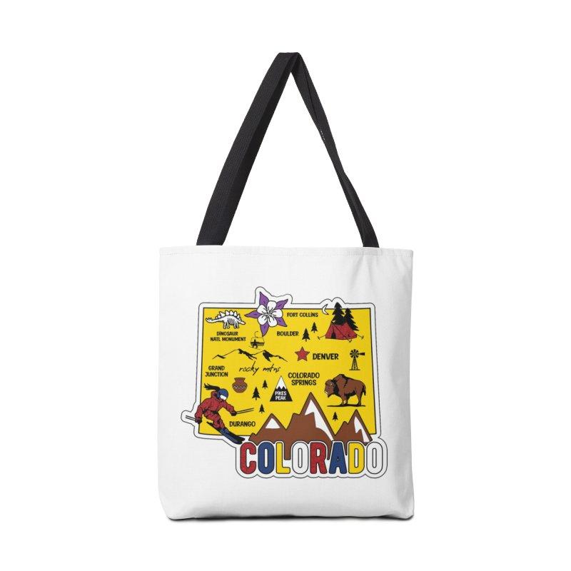 Race Through Colorado Accessories Bag by Moon Joggers's Artist Shop