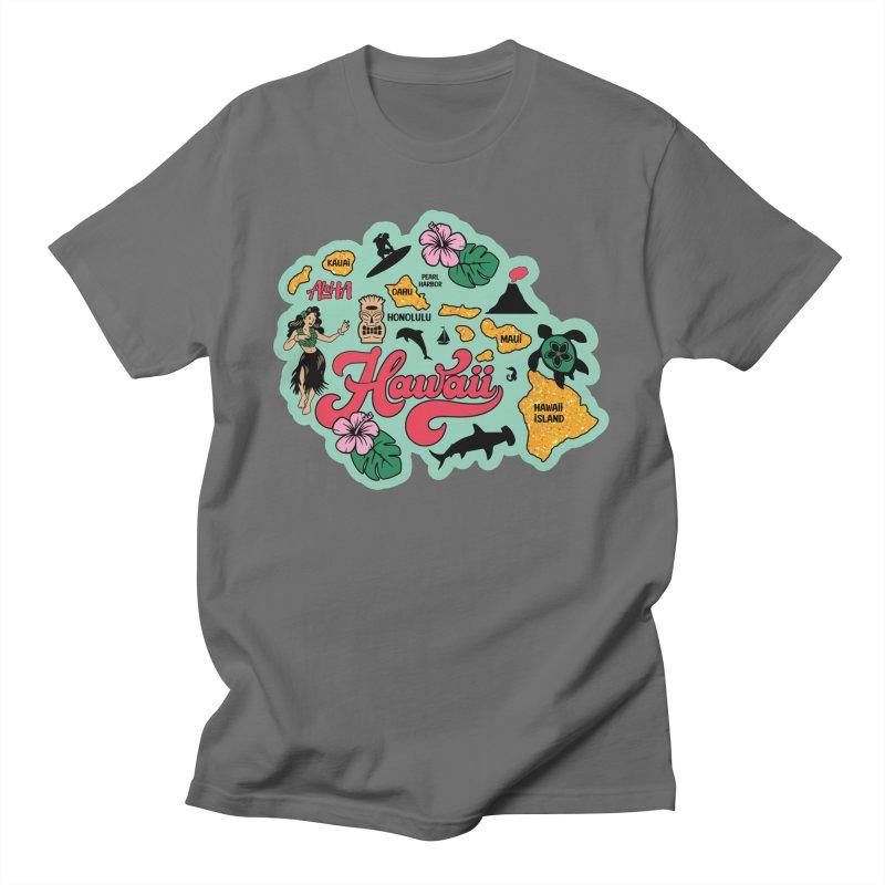 Race Through Hawaii Men's T-Shirt by Moon Joggers's Artist Shop
