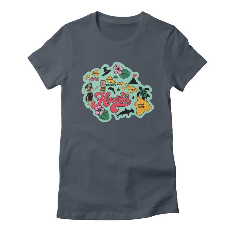 Race Through Hawaii Women's T-Shirt by Moon Joggers's Artist Shop