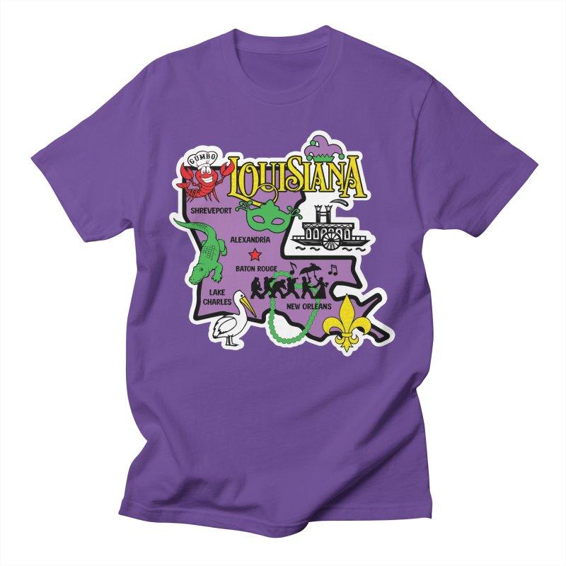 Race Through Luoisiana Men's T-Shirt by Moon Joggers's Artist Shop