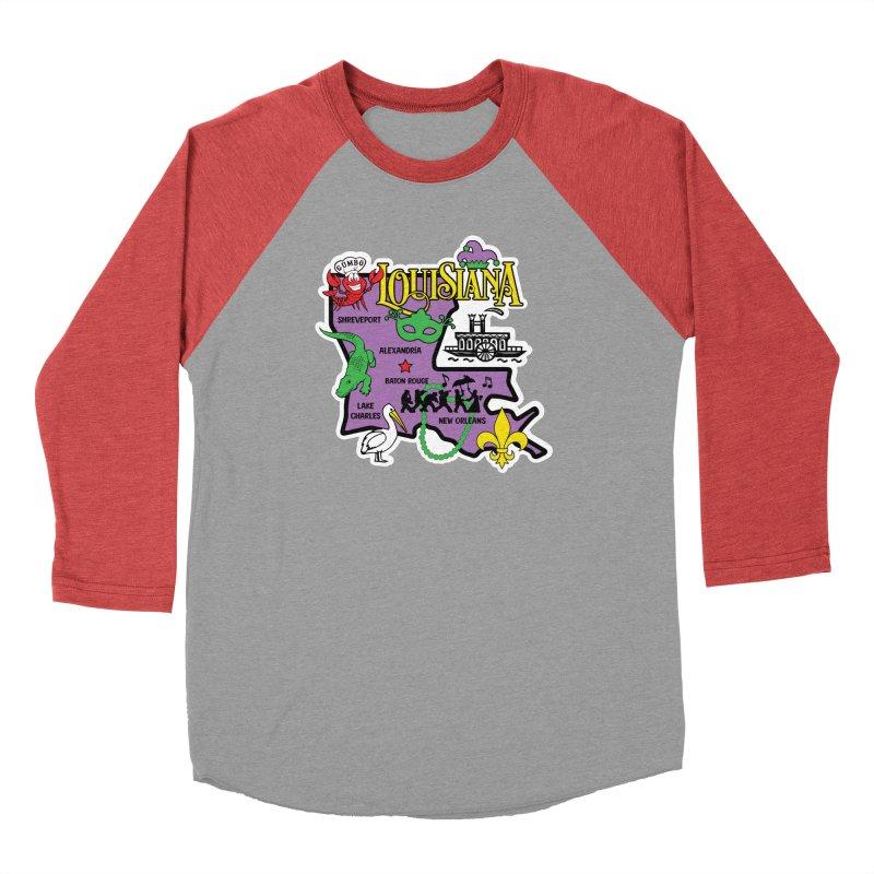 Race Through Luoisiana Men's Longsleeve T-Shirt by Moon Joggers's Artist Shop