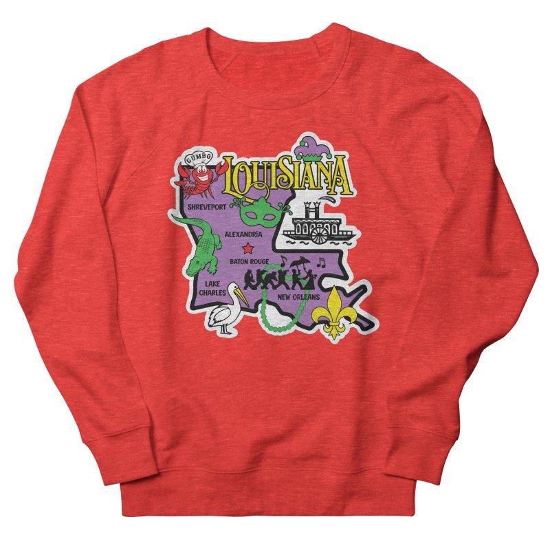 Race Through Luoisiana Women's Sweatshirt by Moon Joggers's Artist Shop