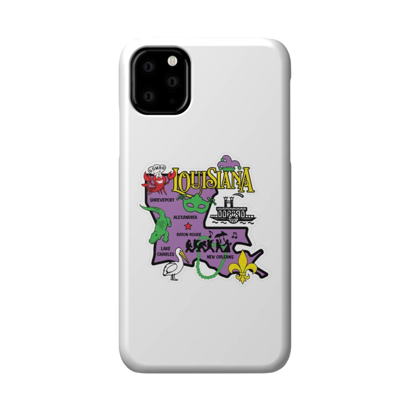 Race Through Luoisiana Accessories Phone Case by Moon Joggers's Artist Shop