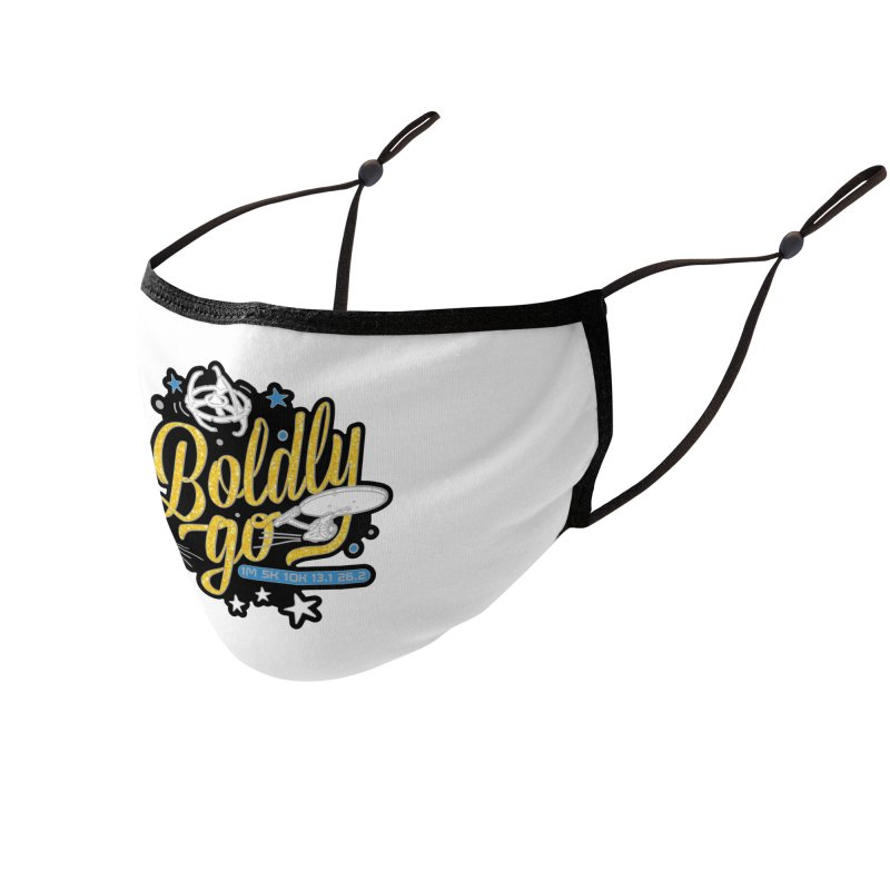 Boldly Go Accessories Face Mask by Moon Joggers's Artist Shop
