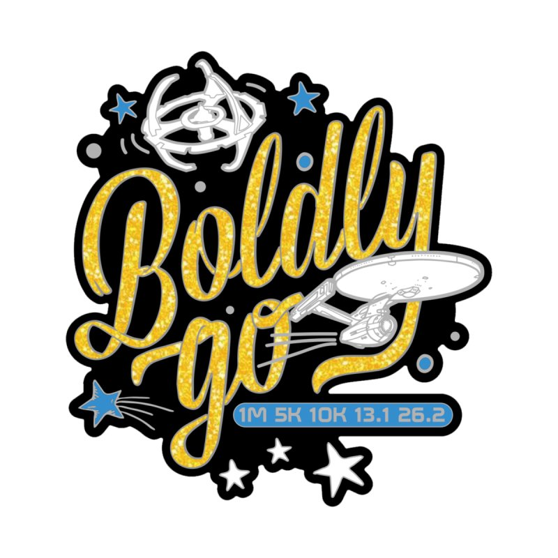 Boldly Go Accessories Skateboard by Moon Joggers's Artist Shop