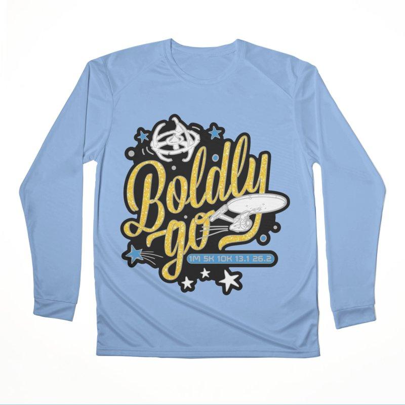 Boldly Go Women's Longsleeve T-Shirt by Moon Joggers's Artist Shop