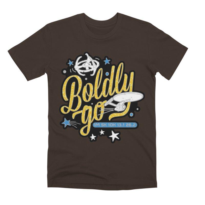 Boldly Go Men's T-Shirt by Moon Joggers's Artist Shop