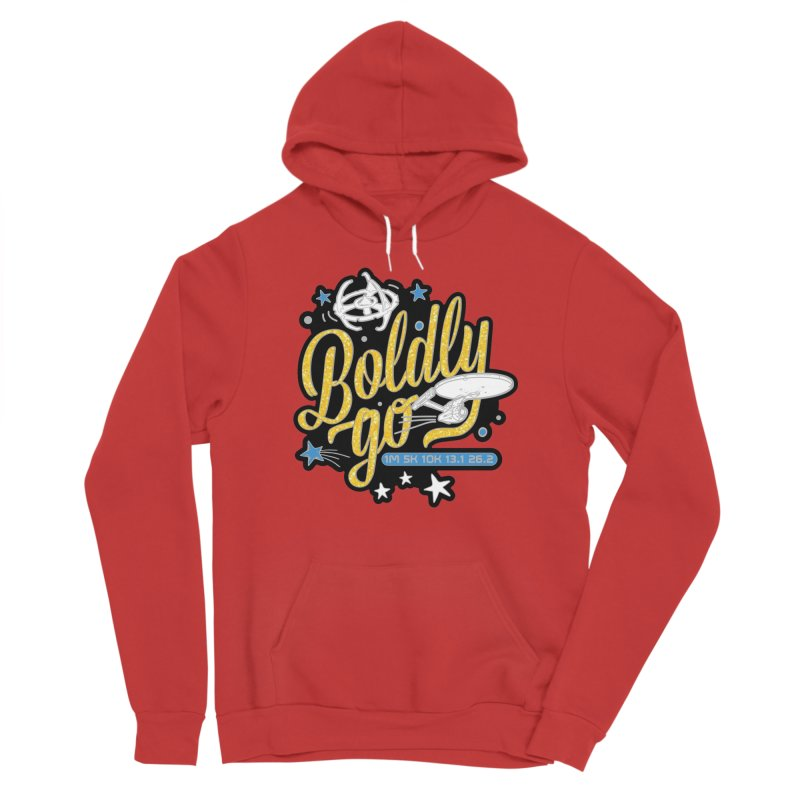 Boldly Go Women's Pullover Hoody by Moon Joggers's Artist Shop
