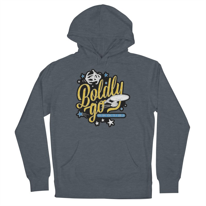 Boldly Go Men's Pullover Hoody by Moon Joggers's Artist Shop