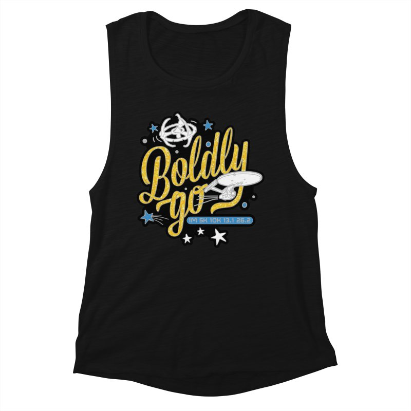 Boldly Go Women's Tank by Moon Joggers's Artist Shop