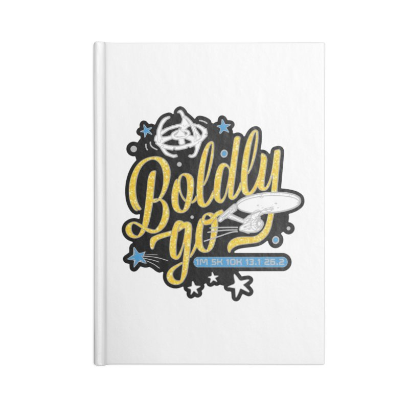 Boldly Go Accessories Notebook by Moon Joggers's Artist Shop