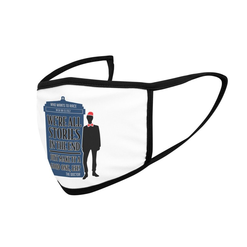WHO Wants to Race Accessories Face Mask by Moon Joggers's Artist Shop