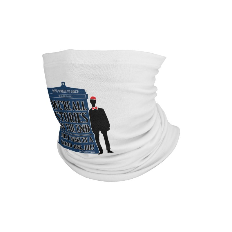 WHO Wants to Race Accessories Neck Gaiter by Moon Joggers's Artist Shop