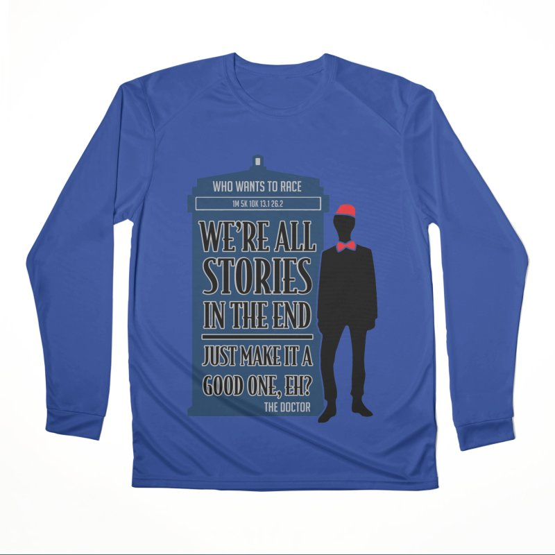 WHO Wants to Race Women's Longsleeve T-Shirt by Moon Joggers's Artist Shop