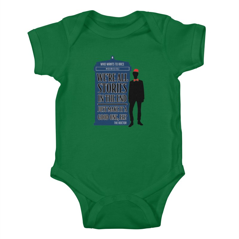 WHO Wants to Race Kids Baby Bodysuit by Moon Joggers's Artist Shop