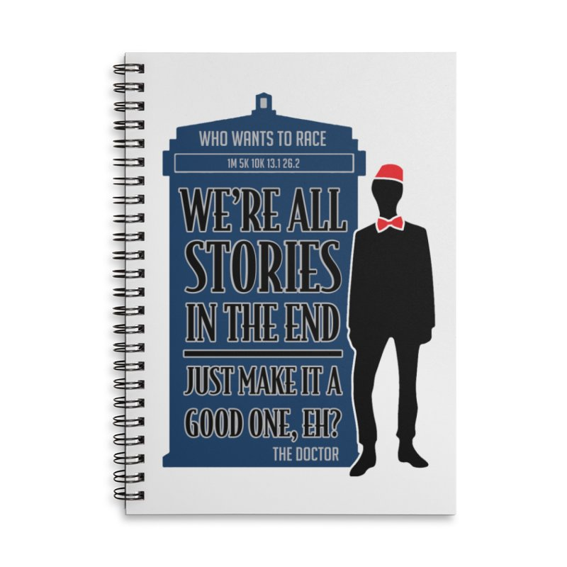 WHO Wants to Race Accessories Notebook by Moon Joggers's Artist Shop