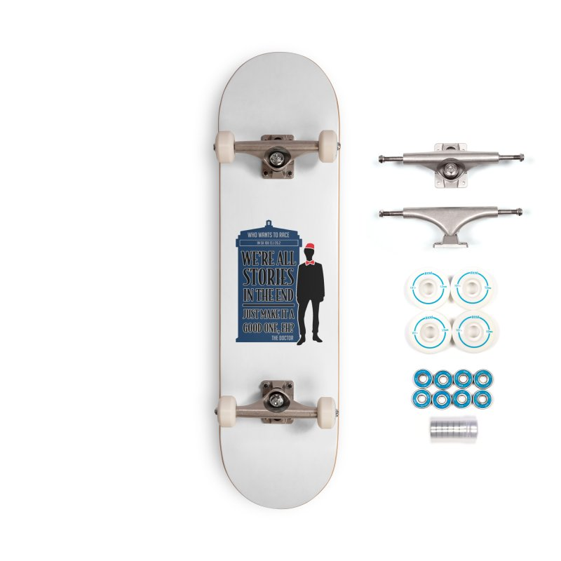 WHO Wants to Race Accessories Skateboard by Moon Joggers's Artist Shop