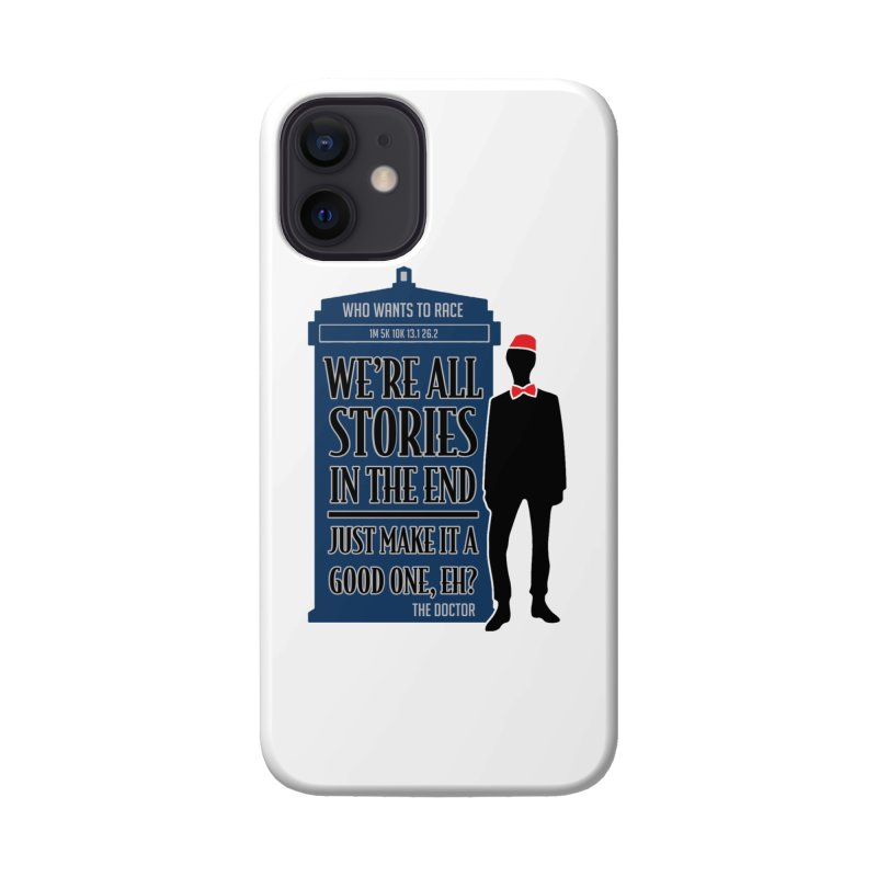 WHO Wants to Race Accessories Phone Case by Moon Joggers's Artist Shop