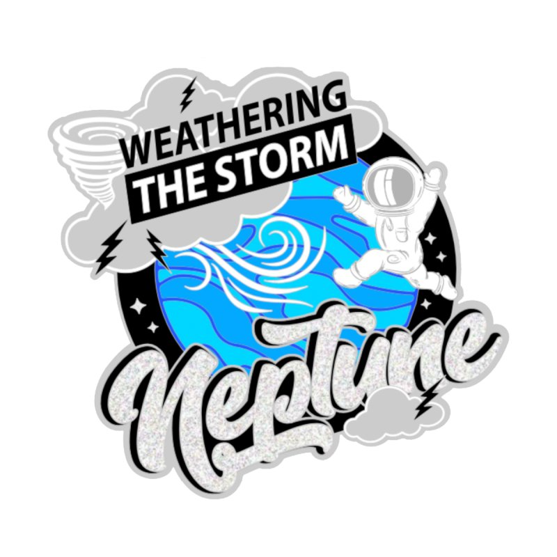 Neptune - Weathering the Storm Accessories Face Mask by Moon Joggers's Artist Shop