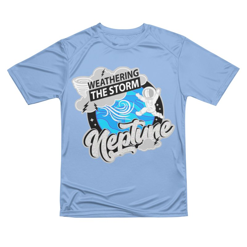 Neptune - Weathering the Storm Men's T-Shirt by Moon Joggers's Artist Shop