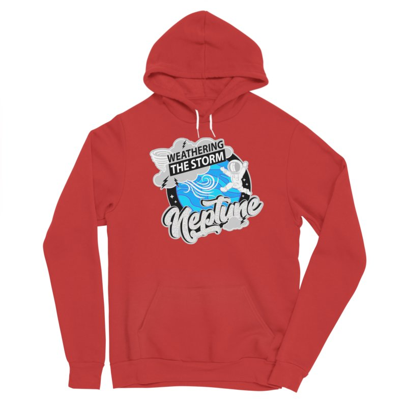 Neptune - Weathering the Storm Men's Pullover Hoody by Moon Joggers's Artist Shop