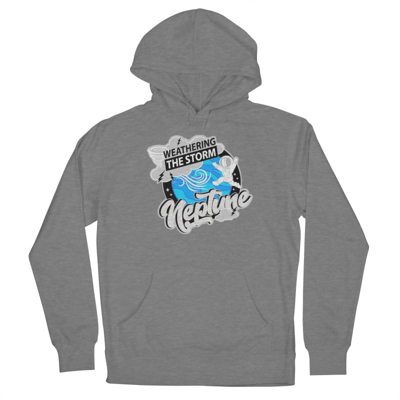 Neptune - Weathering the Storm Women's Pullover Hoody by Moon Joggers's Artist Shop