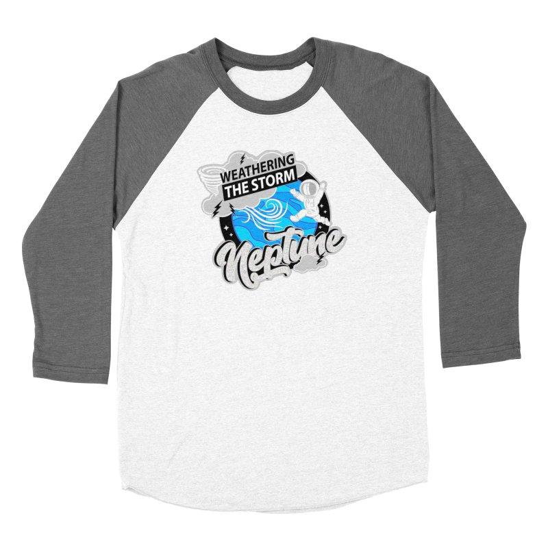 Neptune - Weathering the Storm Women's Longsleeve T-Shirt by Moon Joggers's Artist Shop